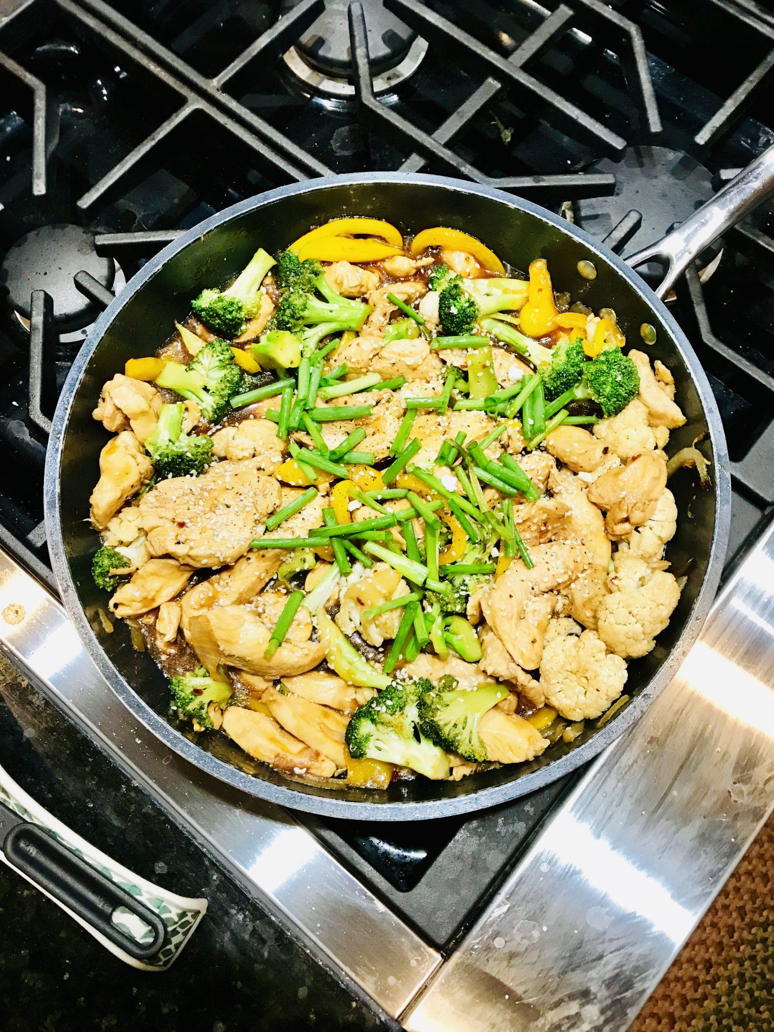 Yummy! The Best Teriyaki Chicken Stir Fry Recipe
