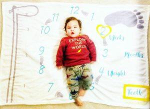 Nonidoo Milestone Blanket