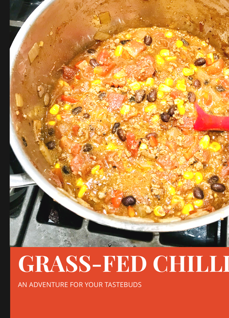 Delicious Grass-Fed Beef Chilli