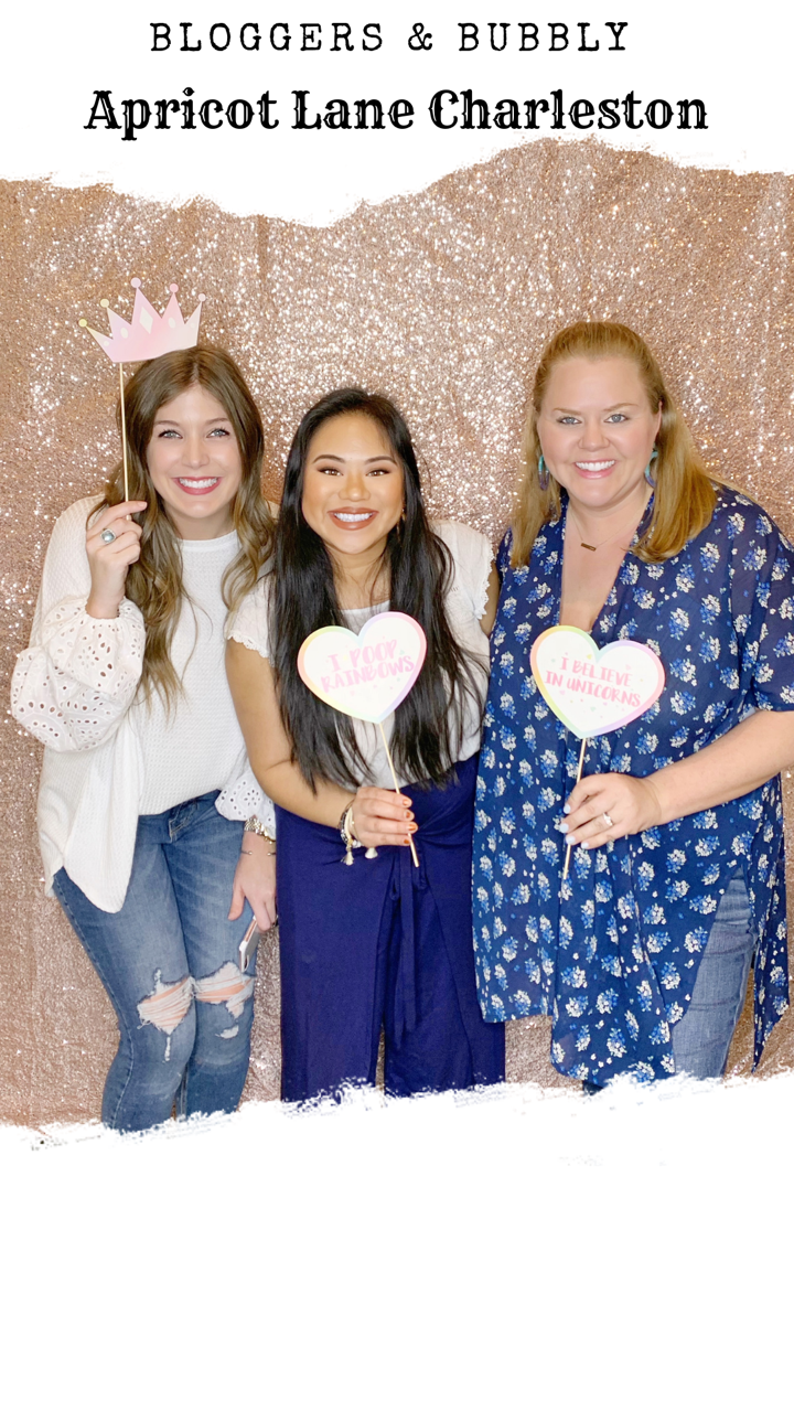 Apricot Lane x Kelsey Hill's Bloggers, Influencers, and Bubbly Event