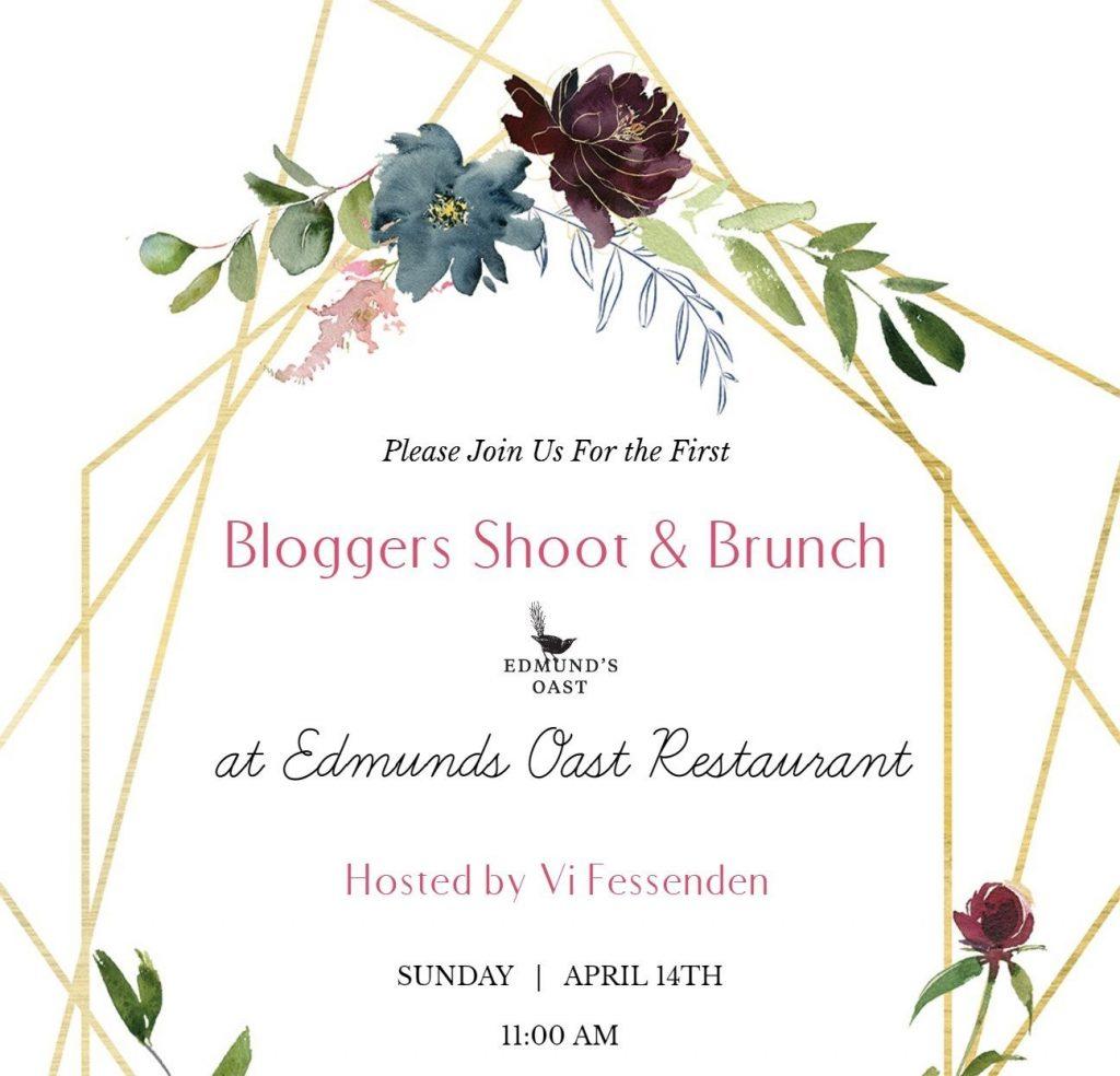First Charleston Bloggers Shoot and Brunch Vi Fessenden