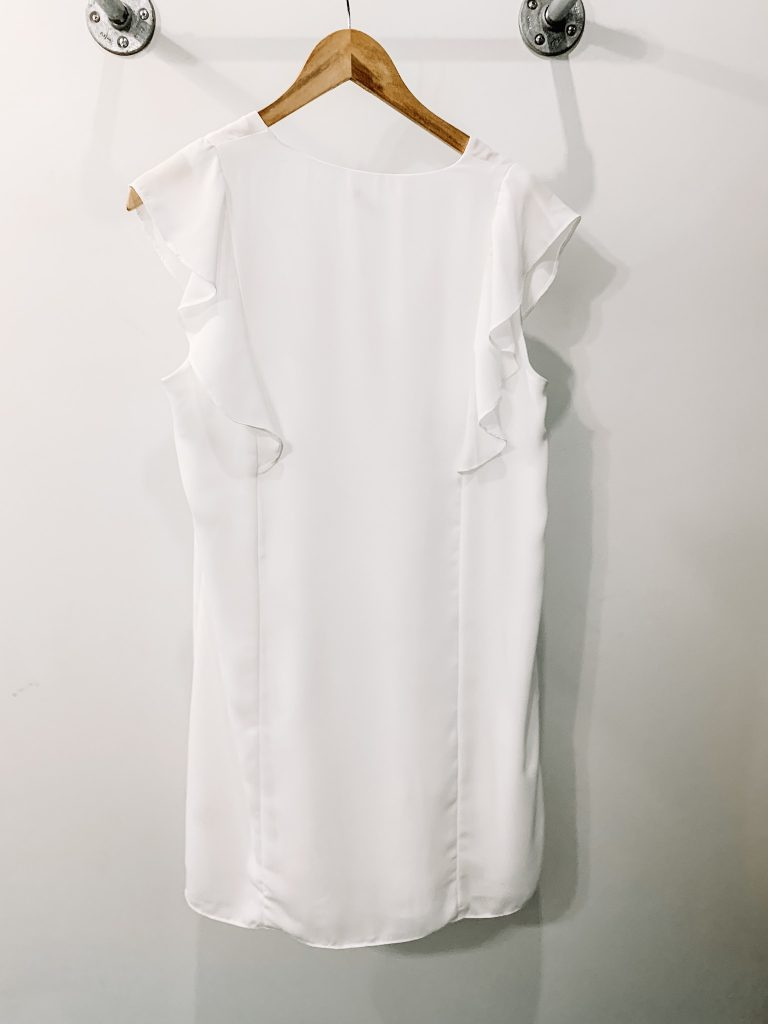 White dress from at Two Cumberland